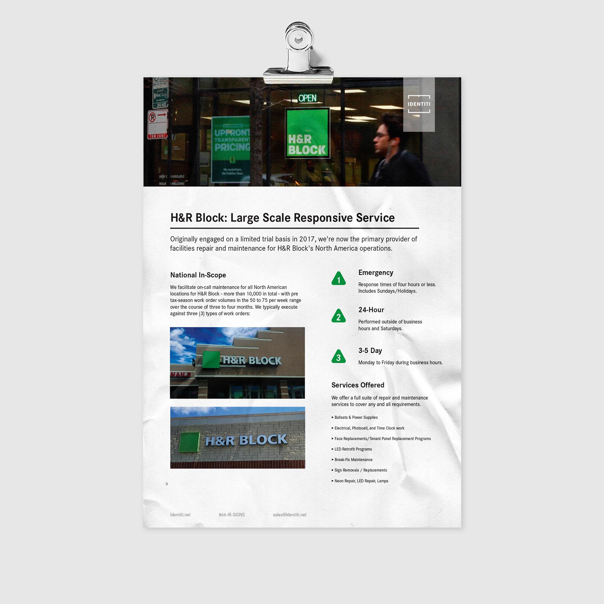 HR Block Mockup